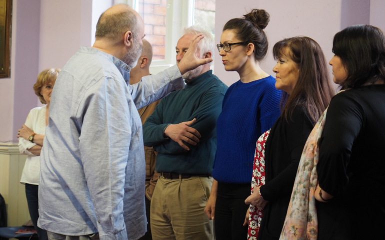 Playwright Jim Cartwright plans 'theatre of head, heart and two fingers'