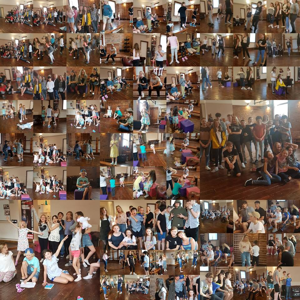Image of Cartwright Drama Studio youth classes.