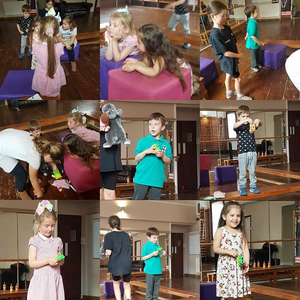 The little stars of Cartwright Drama Studio.