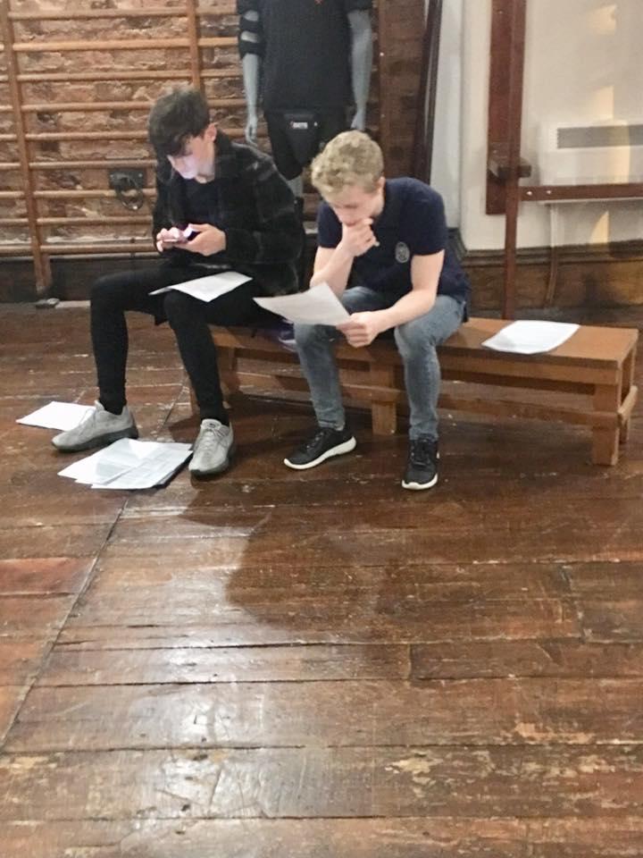 Members of a Cartwright Drama Studio youth class.