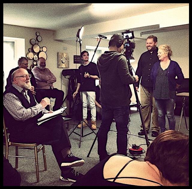 Image of Patrick Tucker at Cartwright Drama Studio.