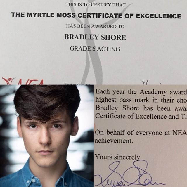 Image of Brad's Certificate
