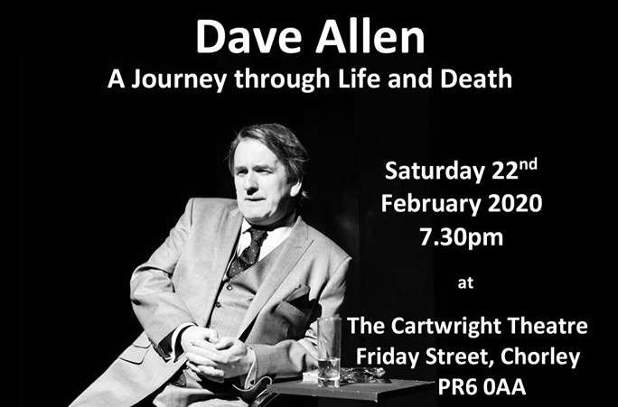 Image of Dave Allen a journey through life and death.